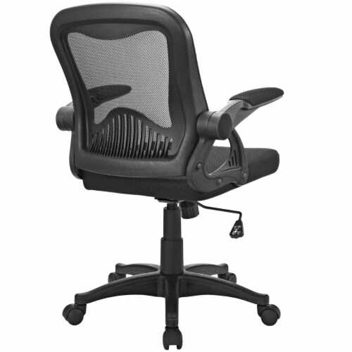 Black Advance Office Chair Perspective: top