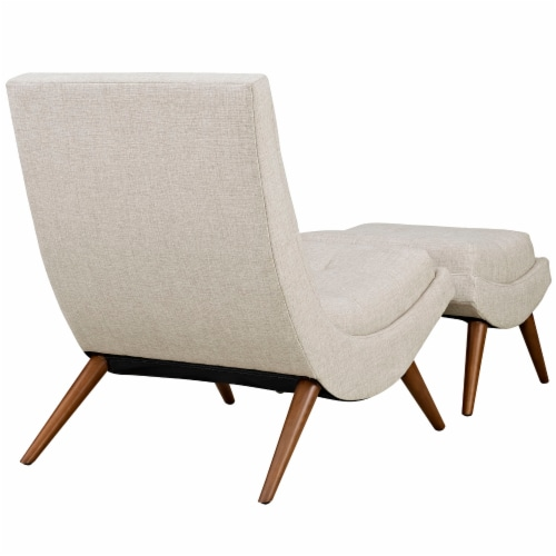 Sand Ramp Fabric Lounge Chair Set Perspective: top