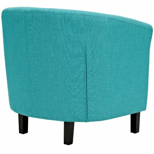 Prospect Upholstered Fabric Armchair - Pure Water Perspective: top