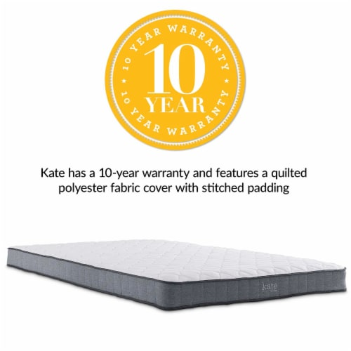 """Kate 6"""" Full Mattress - Perspective: top"""