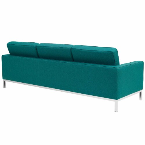 Loft Upholstered Fabric Sofa Perspective: top