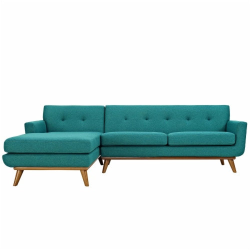 Engage Left-Facing Sectional Sofa Perspective: top