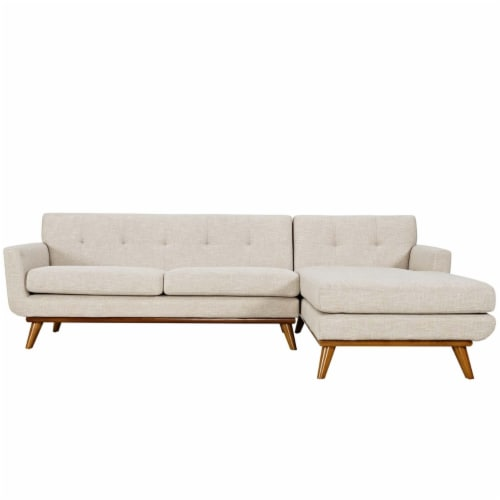 Engage Right-Facing Sectional Sofa Perspective: top