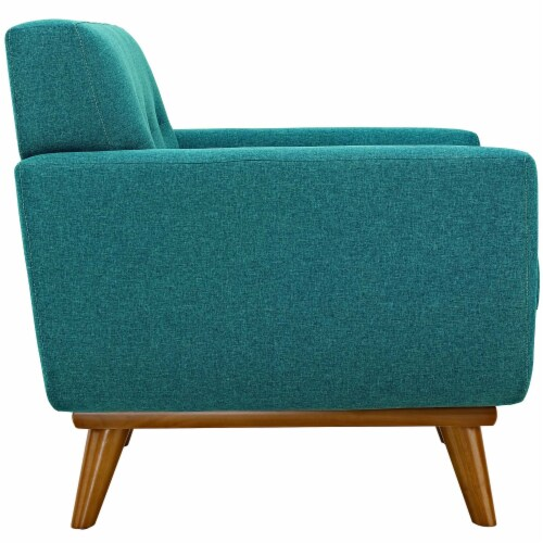 Engage Sofa Loveseat and Armchair Set of 3 - Teal Perspective: top