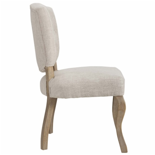 Array Dining Side Chair Set of 2 - Beige Perspective: top