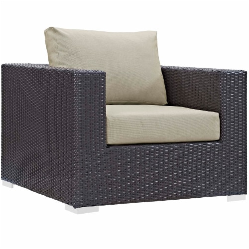 Convene 3 Piece Set Outdoor Patio with Fire Pit Perspective: top