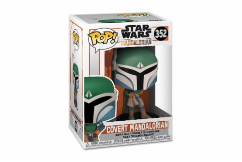 Star Wars Mandalorian Covert Mandalorian Funko Pop Perspective: top