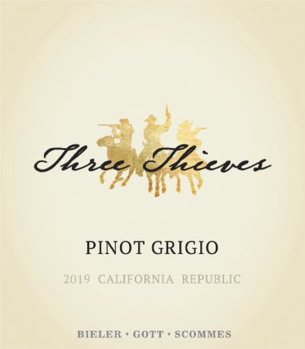 Three Thieves Pinot Grigio Perspective: top