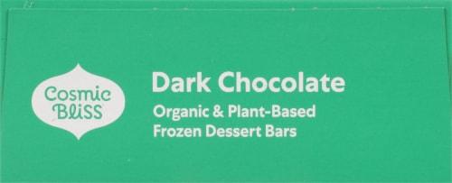 Luna & Larry's Organic Coconut Bliss® Dark Chocolate Frozen Dessert Bars Perspective: top