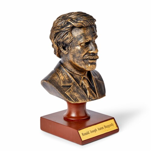 """Anchorman 7"""" Bust: Ron Burgundy Perspective: top"""