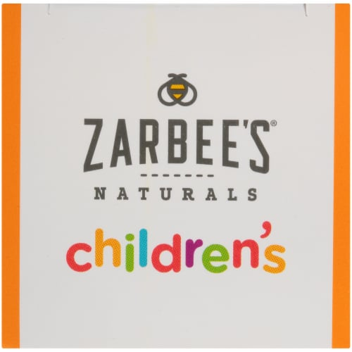 Zarbee's All Natural Children's Grape Cough Syrup with Dark Honey Perspective: top