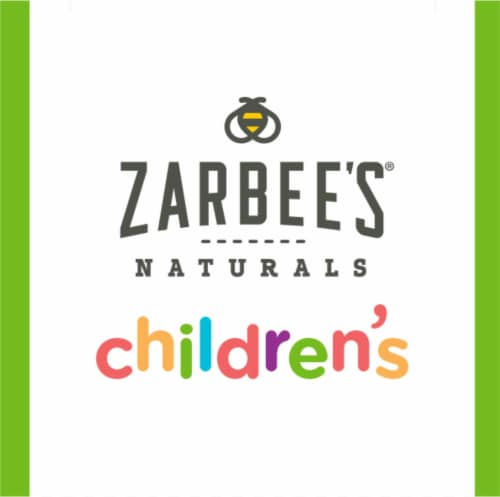 Zarbee's Naturals Dark Honey & Ivy Leaf Grape Flavored Cough Syrup Perspective: top