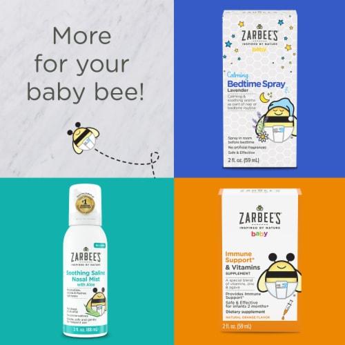 Zarbee's® Baby Natural Orange Flavor Immune Support & Vitamins Supplement Perspective: top