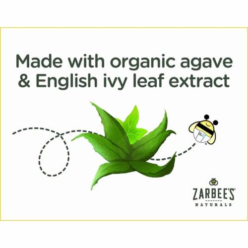 Zarbee's® Naturals Baby Cough + Mucus Grape Liquid Supplement Perspective: top