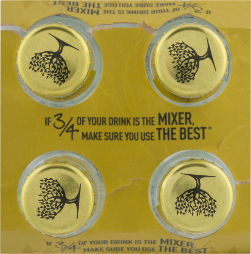 Fever-Tree Premium Indian Tonic Water Perspective: top