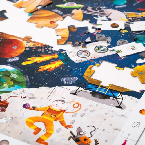 Observation Puzzle Space Perspective: top