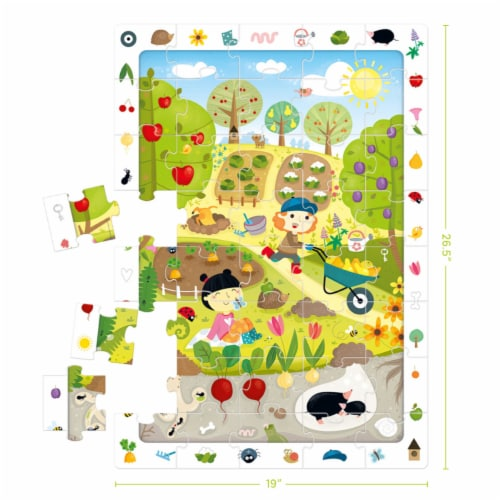 Observation Puzzle Garden Perspective: top