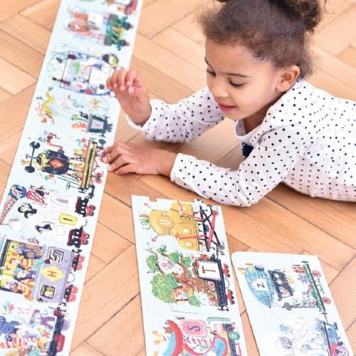 Suuuper Size Puzzle Alphabet Train age 3+ Perspective: top