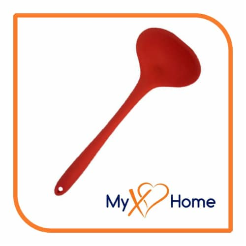 My XO Home Silicone Kitchen Cooking Tools - Red Set of 9 Perspective: top