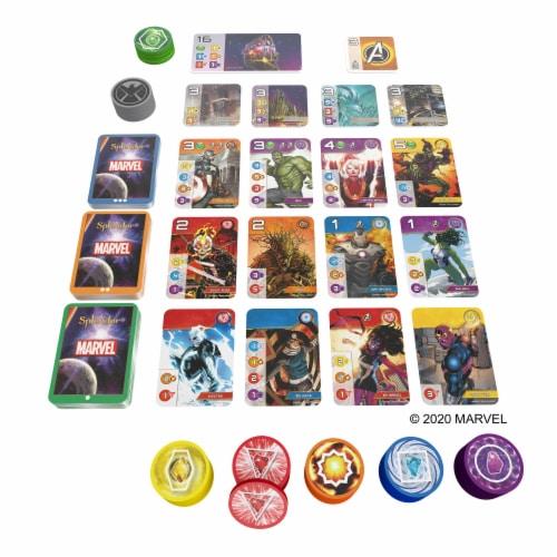 Marvel Splendor Board Game Perspective: top