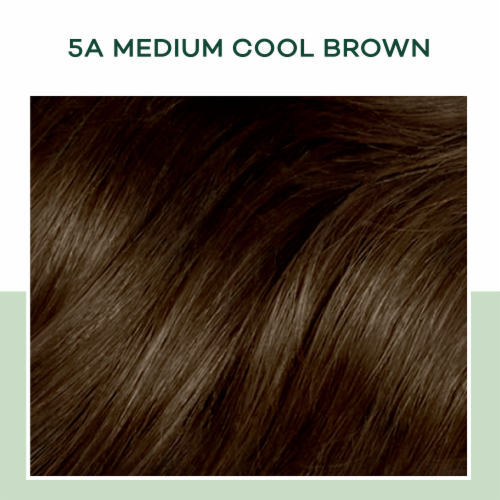 Clairol Healthy Looking Natural Instincts 5A Medium Cool Brown Hair Color Perspective: top