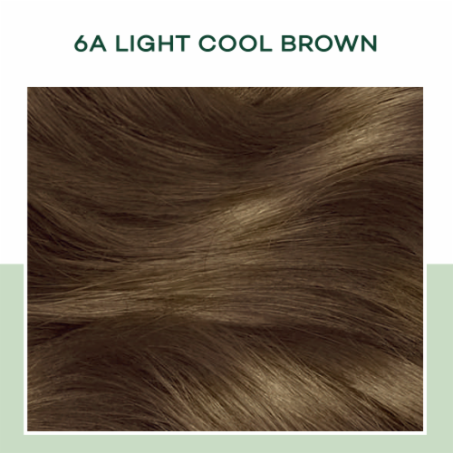 Clairol Natural Instincts Light Cool Brown 6A Semi-Permanent Hair Color Perspective: top