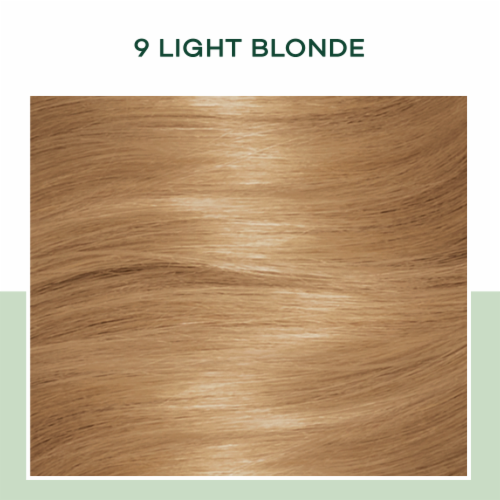 Natural Instincts 9 Light Blonde Hair Coloring Kit Perspective: top