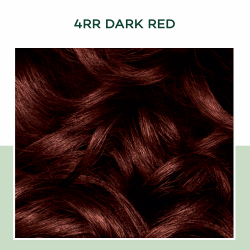 Natural Instincts 4RR Dark Red Hair Color Perspective: top