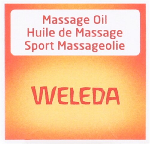 Weleda  Arnica Massage Oil Trial Size Perspective: top