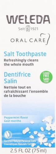 Weleda Peppermint Salt Toothpaste Perspective: top