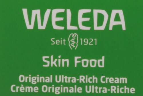 Weleda Skin Food for Dry & Rough Skin Cream Perspective: top