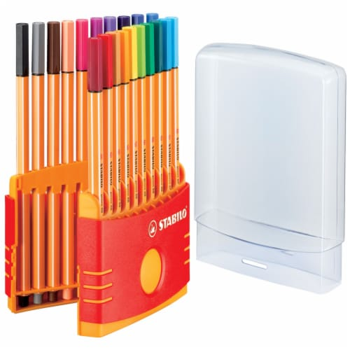 Stabilo Fine-Point Non-Smudging Pen Set Perspective: top