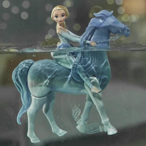Hasbro Disney's Frozen 2 Elsa and Swim and Walk Nokk Perspective: top