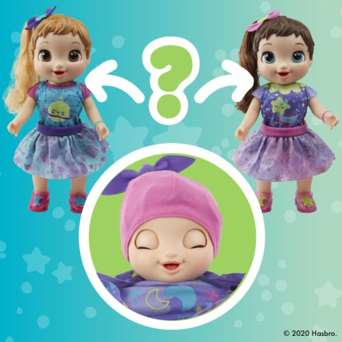 Baby Alive Baby Grows Up Dreamy - Shining Skylar or Star Dreamer Perspective: top