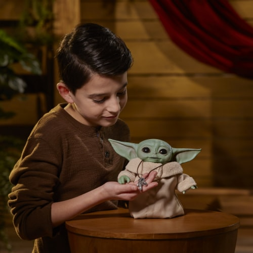 Hasbro Star Wars The Mandalorian The Child Animatronic Figure Perspective: top
