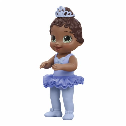 Hasbro Baby Alive Sweet Ballerina Brown Hair Baby Doll - Blue Perspective: top