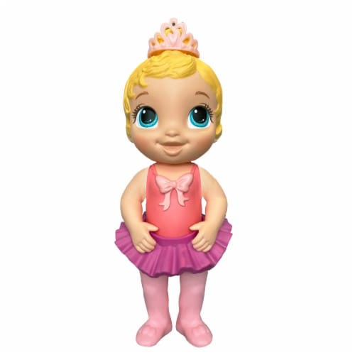 Hasbro Baby Alive Sweet Ballerina Blonde Hair Baby Doll - Pink Perspective: top