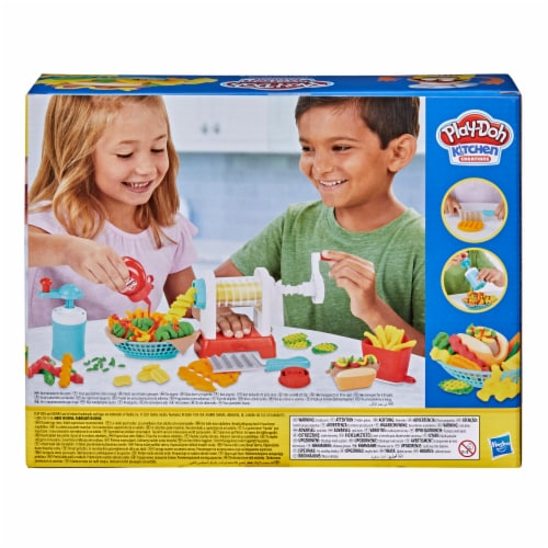 Play-Doh Kitchen Creations Spiral Fries Playset Perspective: top
