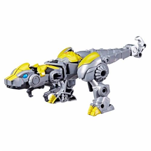 Hasbro Transformers Dinobot Adventures Bumblebee Figures Perspective: top