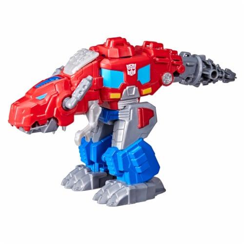 Hasbro Transformers Dinobot Adventures Optimus Prime Figures Perspective: top