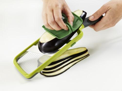 Joseph Joseph Multi-Grip Mandoline Slicer - Green Perspective: top