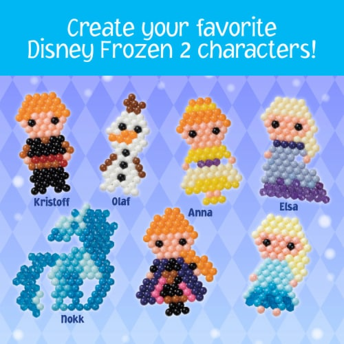 Aquabeads Disney Frozen 2 Character Set Perspective: top
