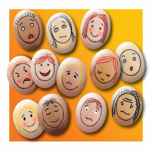 Yellow Door Emotion Stones Perspective: top
