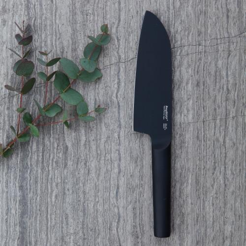 BergHOFF Ron Santoku Knife - Black Perspective: top