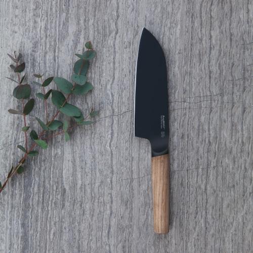 BergHOFF Ron Santoku Knife - Natural Perspective: top