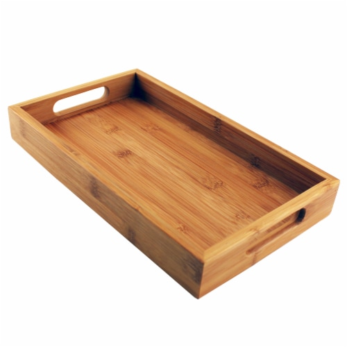 BergHOFF Small Bamboo Serving Tray Perspective: top