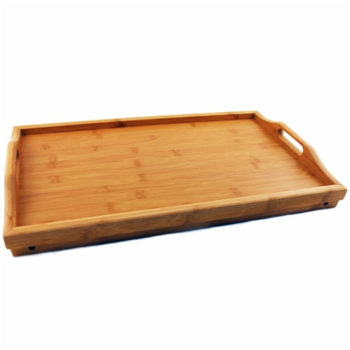 BergHOFF Bamboo Bed Tray Perspective: top