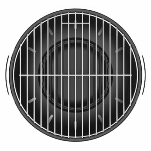 BergHOFF Tabletop BBQ Grill - Black Perspective: top