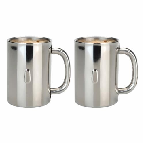 BergHOFF Stainless Steel Coffee Mug Set Perspective: top