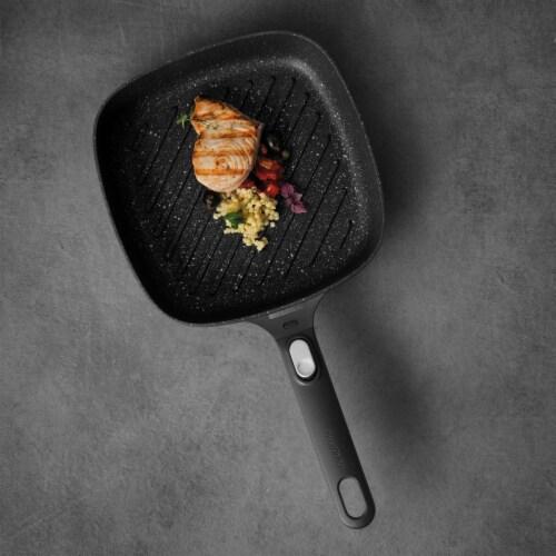BergHOFF Gem Cast Aluminum Nonstick Grill Pan Perspective: top